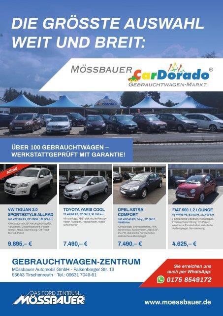 CarDorado Gebrauchtwagen Flyer