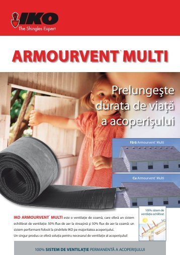 Armourvent multi - IKO Sales International