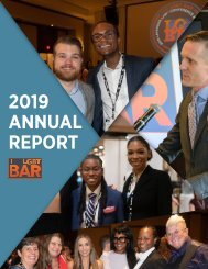 LGBT Bar 2019 Annual Report