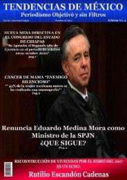 Revista Tendencias de Mèxico mes de Octubre