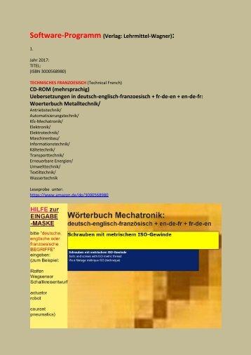 franzoesisch englisch uebersetzen Technik-Bedienungsanleitung