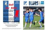 Blues News 274: Das Derby gegen Völs