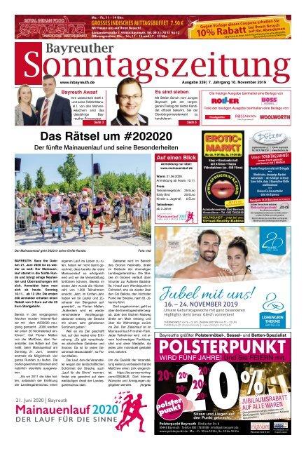 2019-11-10 Bayreuther Sonntagszeitung