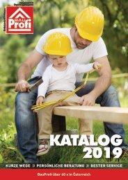 Kraft Bau BauProfi Katalog 2019