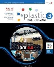 La plastica oggi e domani - Supplemento - N°3 Settembre e Ottobre 2019