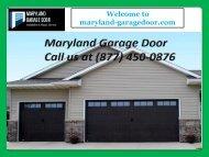 Top Qualty Garage Door Repair in Maryland