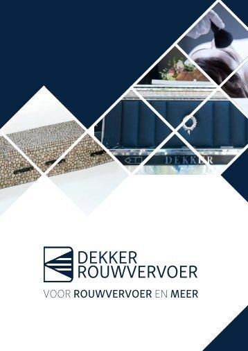 Dekker Rouwvervoer - magazine