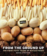 From the Ground Up - McCain Foods Limited
