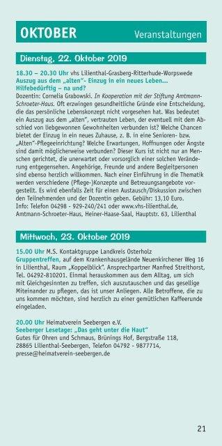 Lilienthaler Rundblick 4/2019