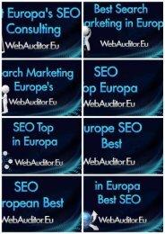 European Marketing Top #EuropeanMarketingTop #WebAuditor.Eu for Branding Best Europe SEO Best in Europe Consulting