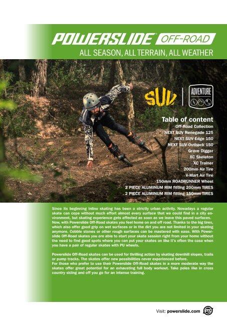 Euro size 41  or 45  NEW! POWERSLIDE XC Trail II ski//skates