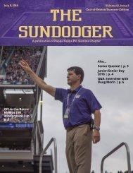 End of Season Sundodger - Spring 2018