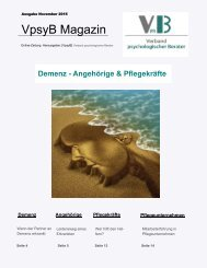 Online-Magazin November 2015 VpsyB