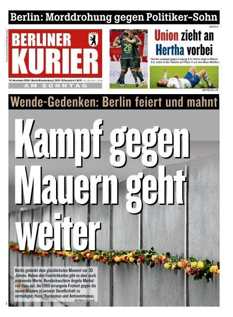 Berliner Kurier 10.11.2019