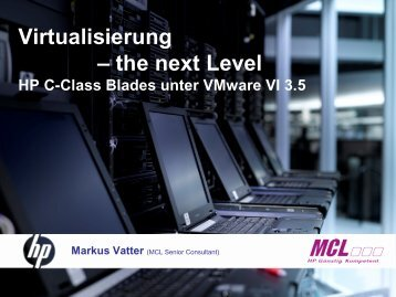 Virtualisierung –the next Level