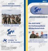 Die AFH-Personalvertreter in der Lichtenstein-Kaserne