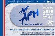 Die Personalvertreter FlH/HINTERSTOISSER