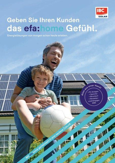 Geben Sie Ihren Kunden das efa:home Gefühl.