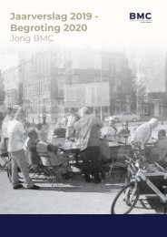 Jaarverslag Jong BMC 2019