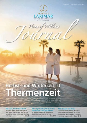 Larimar Journal Herbst/Winter 2019