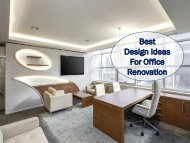 Best Design Ideas for Office Renovation PDF