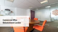 Commercial Office Refurbishment Company London