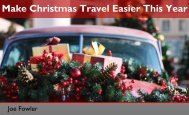 How to Make Christmas Travel Easier This Year