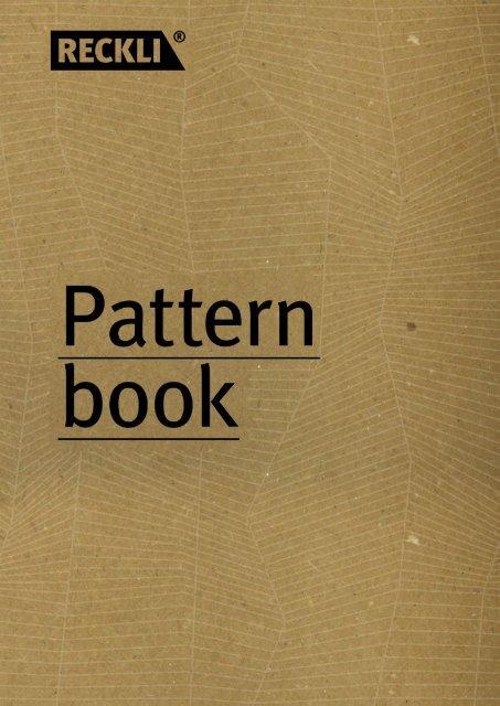 RECKLI - Formliners Catalogue - Catalogo Matrici