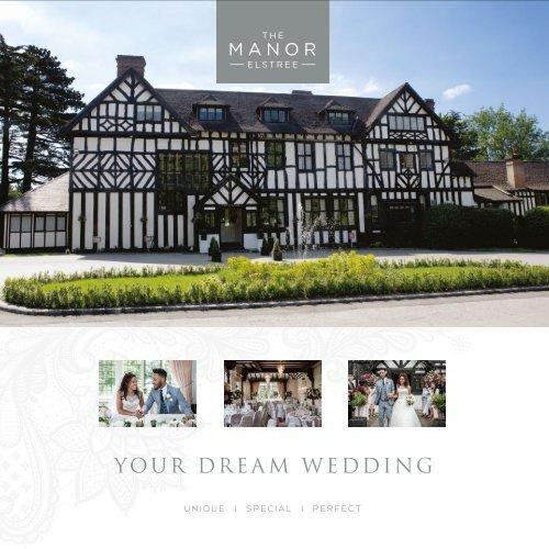 The Manor Elstree Wedding Brochure
