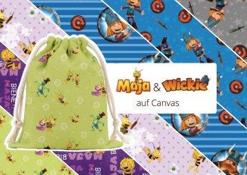 Hmmeers Itex_Biene Maja und Wickie_Canvas