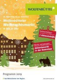 Weihnachtsmarktprogramm 2019