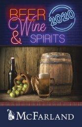 Beer, Wine & Spirits Flipbook