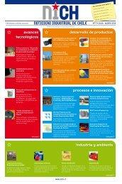 NOTICIERO INDUSTRIAL DE CHILE desarrollo de productos ... - Inicio