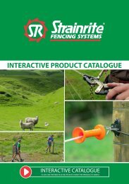 Strainrite Interactive Fencing Product Catalogue Wholesale 2019