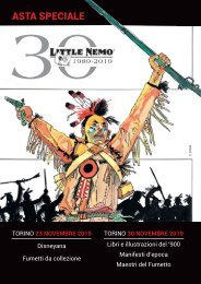 Little Nemo 59th-60th Special Auction Catalog