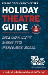 2019 Holiday Guide to Chicago Theatre