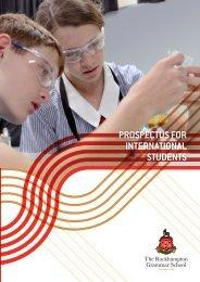 RGS International Prospectus in English