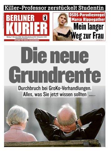 Berliner Kurier 11.11.2019