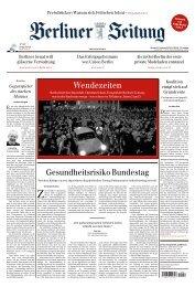 Berliner Zeitung 11.11.2019