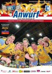Unsere Gäste: Buxtehuder SV - Handball-Club Leipzig e.V.
