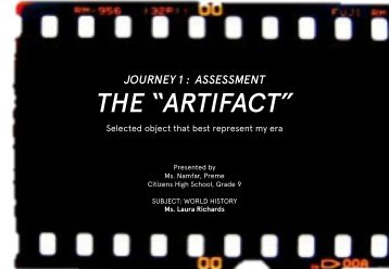 MsRichards-Assignment1-Artifacts(revise)