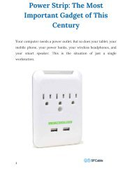 Power Strip The Most Important Gadget of This Century