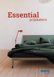 Auping Prijskatern - Essential 2019