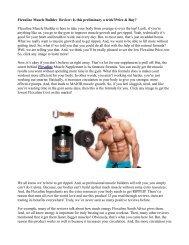 How Does  Flexuline  Work ?