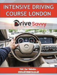Intensive Driving Course London