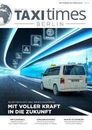 Taxi Times Berlin - September / Oktober  2019