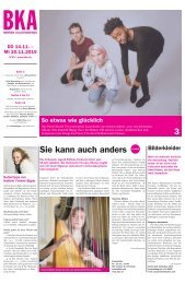 Berner Kulturagenda N°45