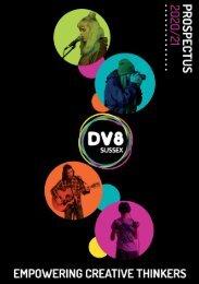 Dv8 Sussex Prospectus 2020/21