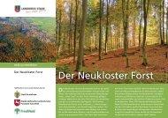 Der Neukloster Forst - Landkreis Stade