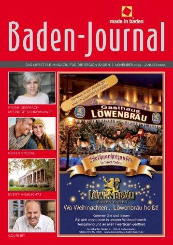 BadenJournal November 2019 - Februar 2020